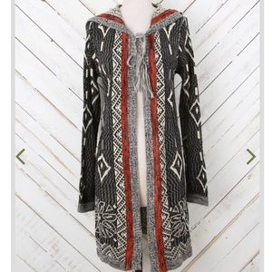 ALTAR'D STATE | tribal shine open cardigan boho L